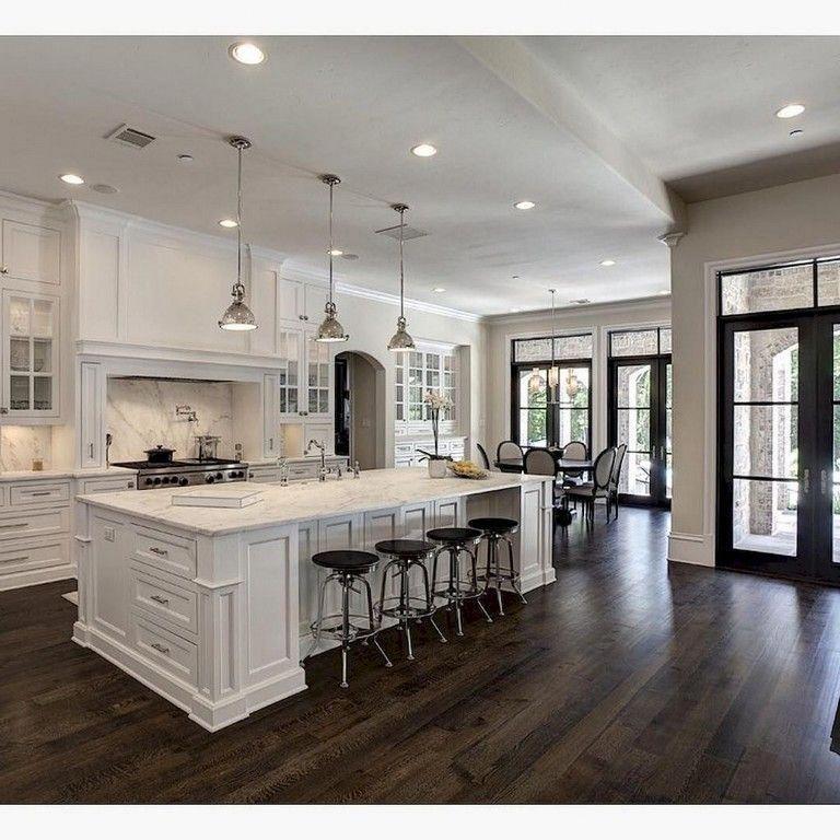 99+ Amazing White Kitchen Cabinets Decor Ideas For
