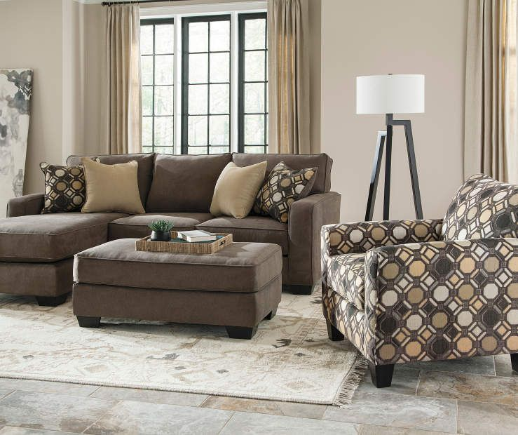 Keenum Taupe Sofa & Chaise | Big Lots | Living Rooms | Pinterest ...