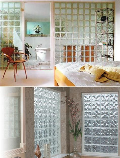 Glass Block Walls For Bright And Modern Bathroom Design Decoracao De Casa Casas Decoracao