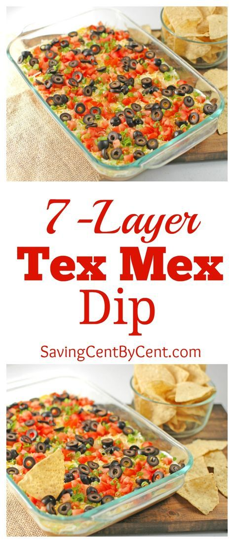 7-Layer Tex Mex Dip - Saving Cent by Cent