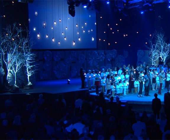Blue Hue Christmas Google Image Result For Http://fellowshipcreative.com/wp  · Christmas Stage DesignChurch ...
