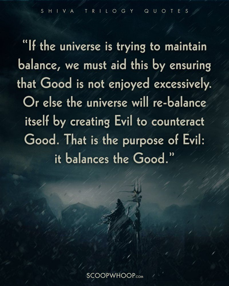 Philosophical Quotes About Friendship 24 Quotes From The Shiva Trilogy That'll Make You See Good Evil