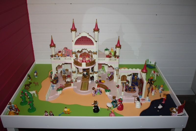 une table de jeu playmobil avec lack a faire pinterest. Black Bedroom Furniture Sets. Home Design Ideas