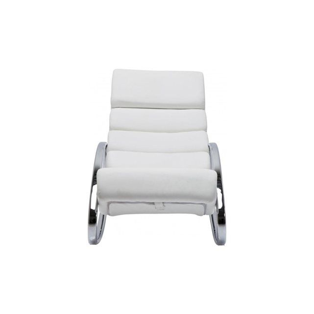 Fauteuil Rocking Chair Manhattan Blanc Kare Design KARE DESIGN - Fauteuil rocking chair design