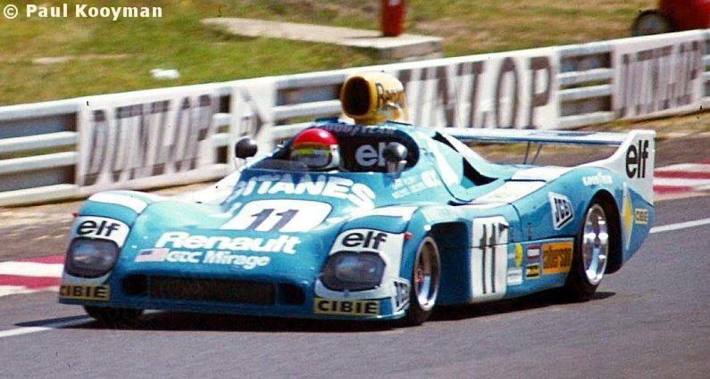 Michel Leclere Sam Posey Mirage M9 Renault Grand Touring Cars Inc Xlvi Grand Prix D Endurance Les 24 Heures Du Mans 19 Le Mans Renault Sport Cars