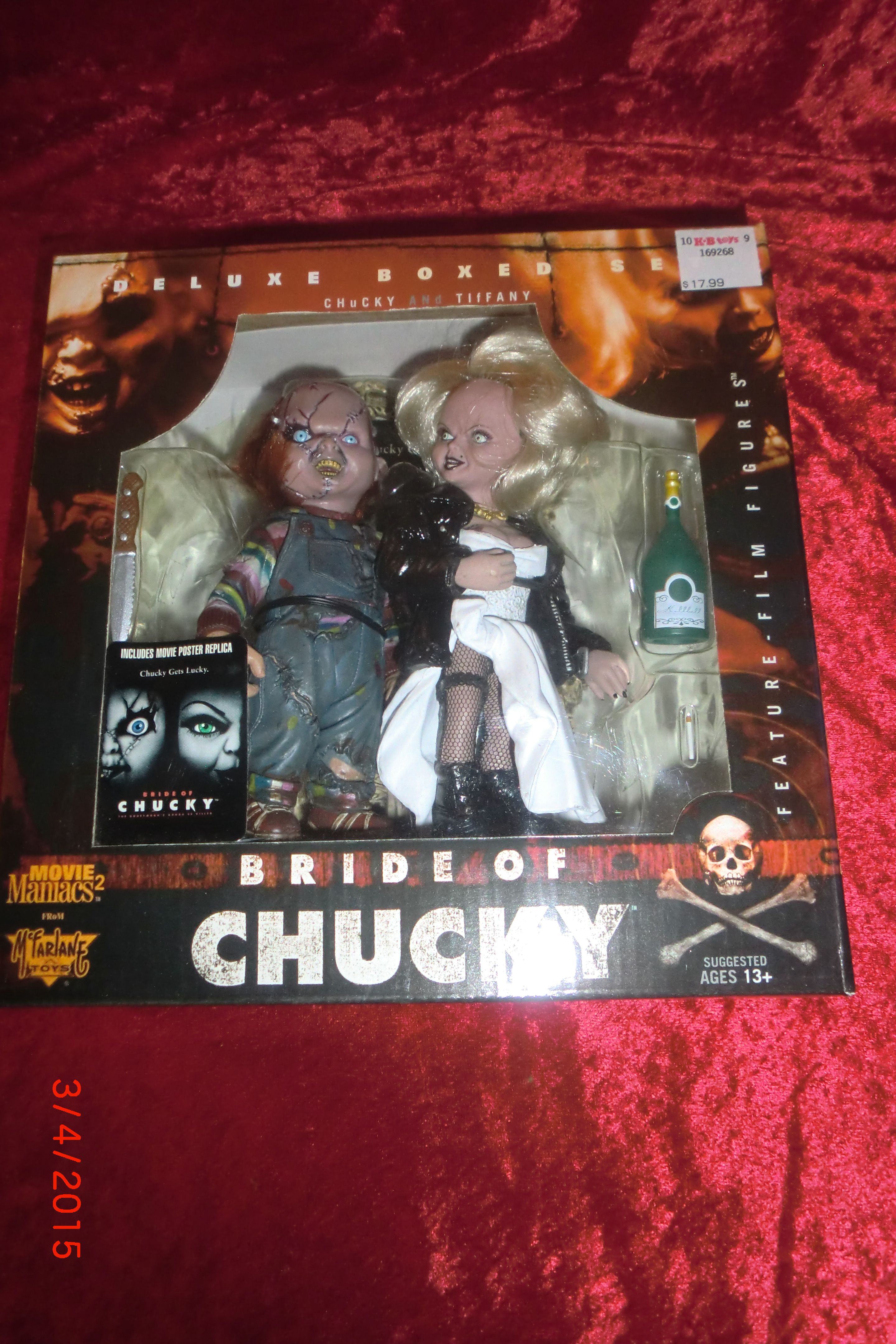 1999 mcfarlane toys movie maniacs 2 deluxe boxed set bride of chucky 1999 mcfarlane toys movie maniacs 2 deluxe boxed set bride of chucky action figures chucky and altavistaventures Images