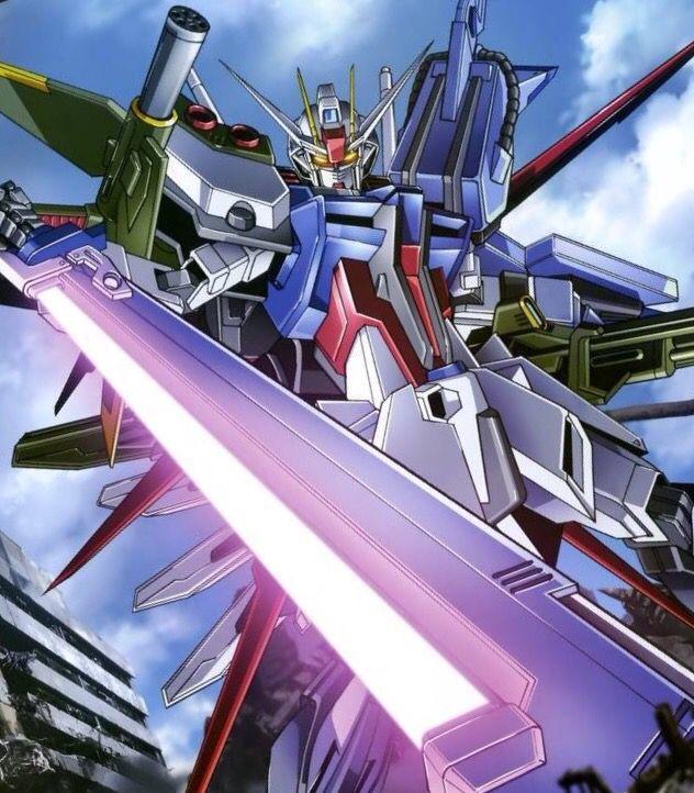 Gundam With Sword Strike Gundam Gundam Seed Gundam Art