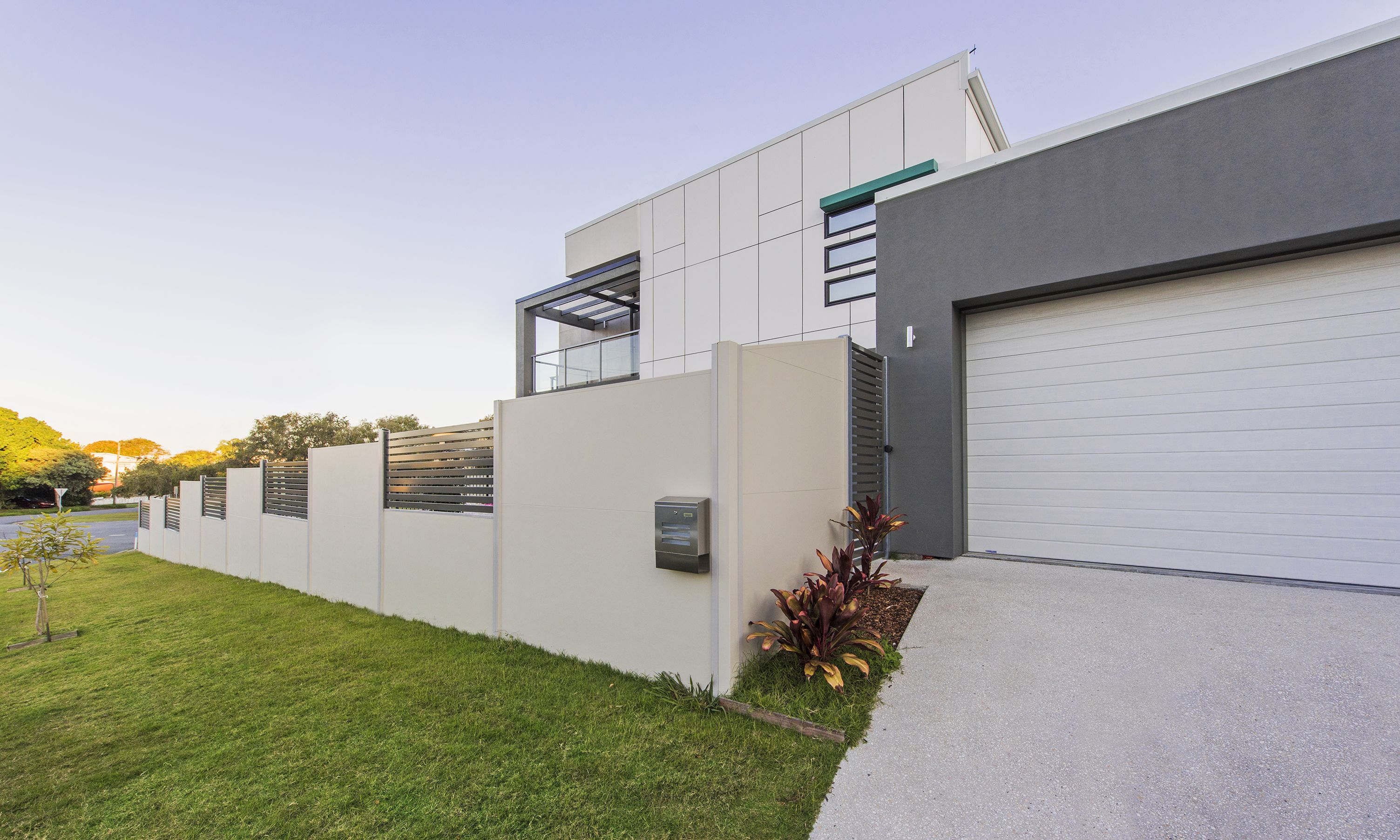 SlimWall installed to match exterior design of home | SlimWall ...