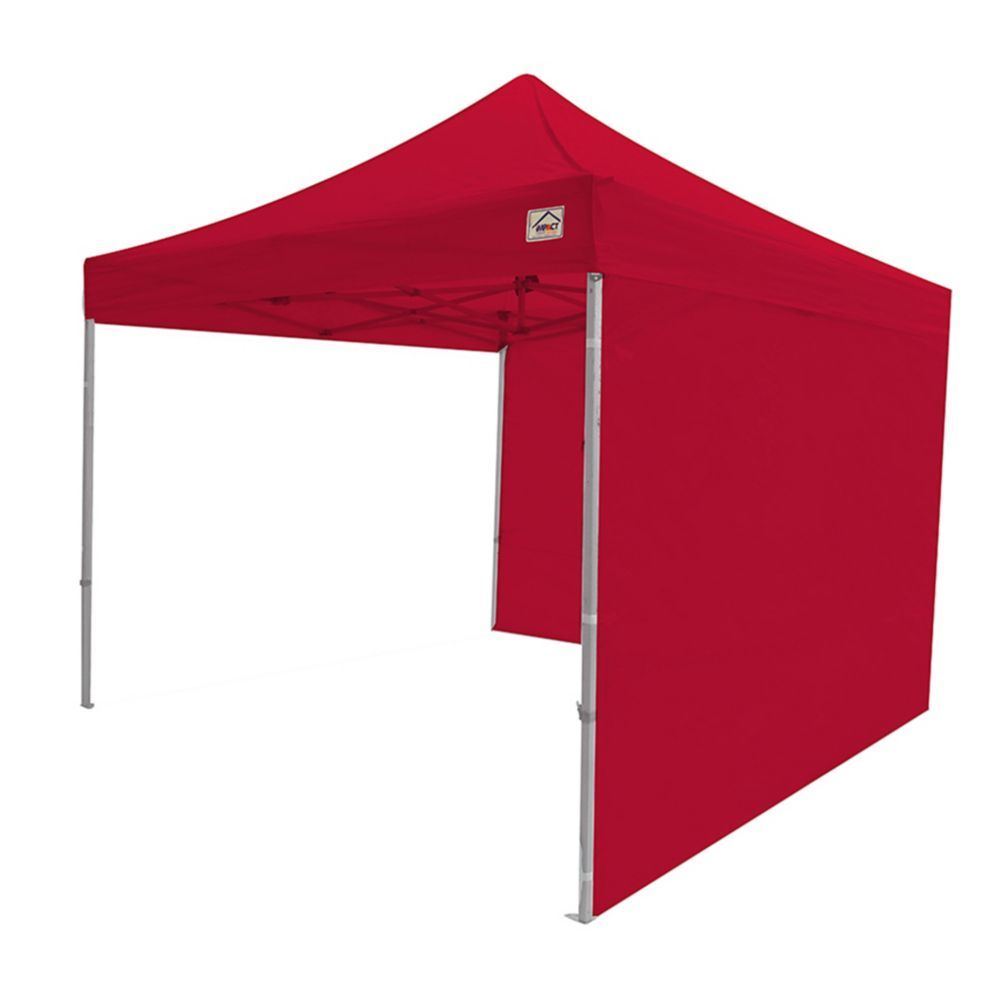 Sidewall Accessory Kit In Red For 10 Ft X 10 Ft Instant Pop Up Canopy 2 Pack Instant Canopy Side Wall Patio Swing Canopy