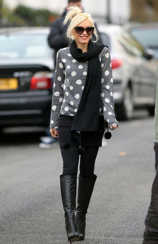 Gwen's perfect fall outfit