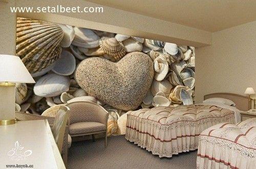 ورق حائط ثلاثى الابعاد غرف نوم مودرن ست البيت كل ما يخص حواء Kids Bedroom Wall Decor Wall Decor Bedroom Decor