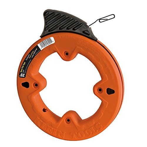 Klein Tools 25 Feet Depth Finder High Strength 1 8 Inch Wide Steel Fish Tape Klein Tools Electrical Tools Electrical Tape