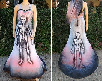 Sugar Skull Costume // Dia de los Muertos by GraveyardShift13