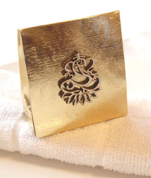 Indian Ganesh Wedding Favour Box Gold Bag Boxes In 2018