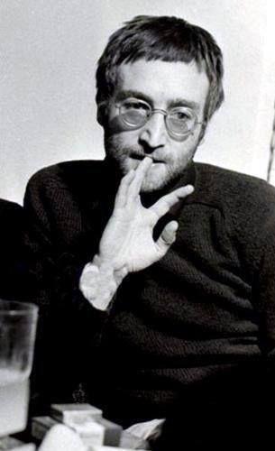 """JOHN LENNON.......GREAT PICTURE OF """"JOHN.""""...LOVE IT.........""""JOHN""""......R.I.P"""