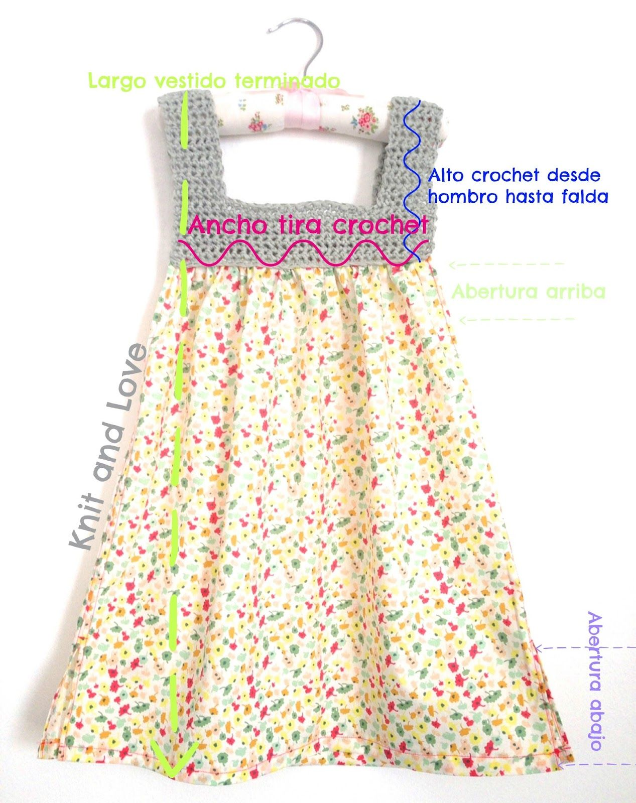 Pin by Chalibel M on Girly Crochet | Pinterest | Crochet, Knit ...