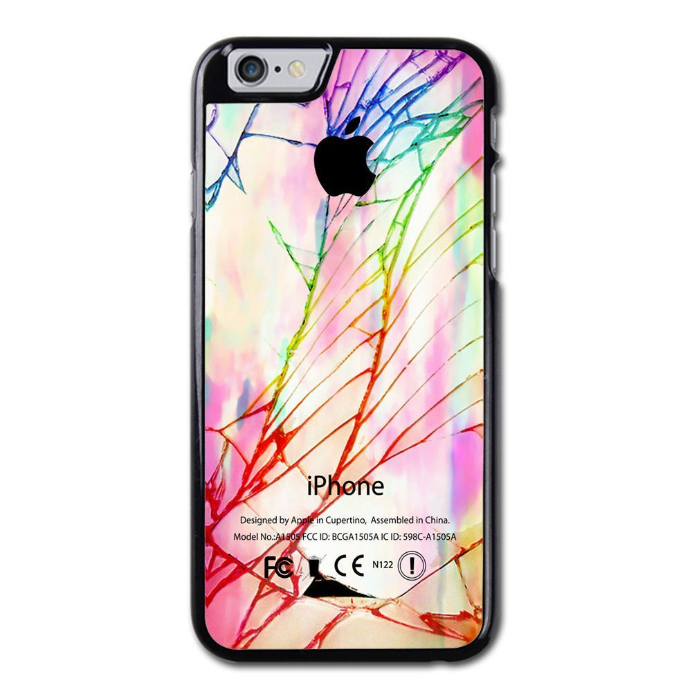 Cracked Out Apple Pastel iPhone 6 Case