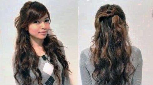 Elegant Easy Cute Hairstyles For Long Hair Download Curly Hair Styles Easy Long Hair Styles Hair Styles