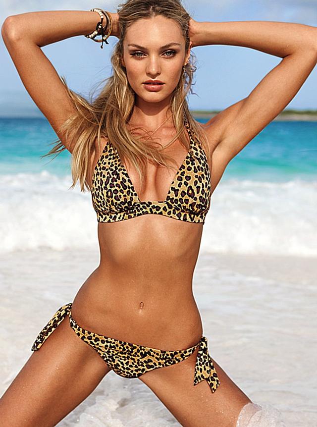aa86ca198 Candice Swanepoel in animal print bikini | Style: Flirty | Bikinis ...