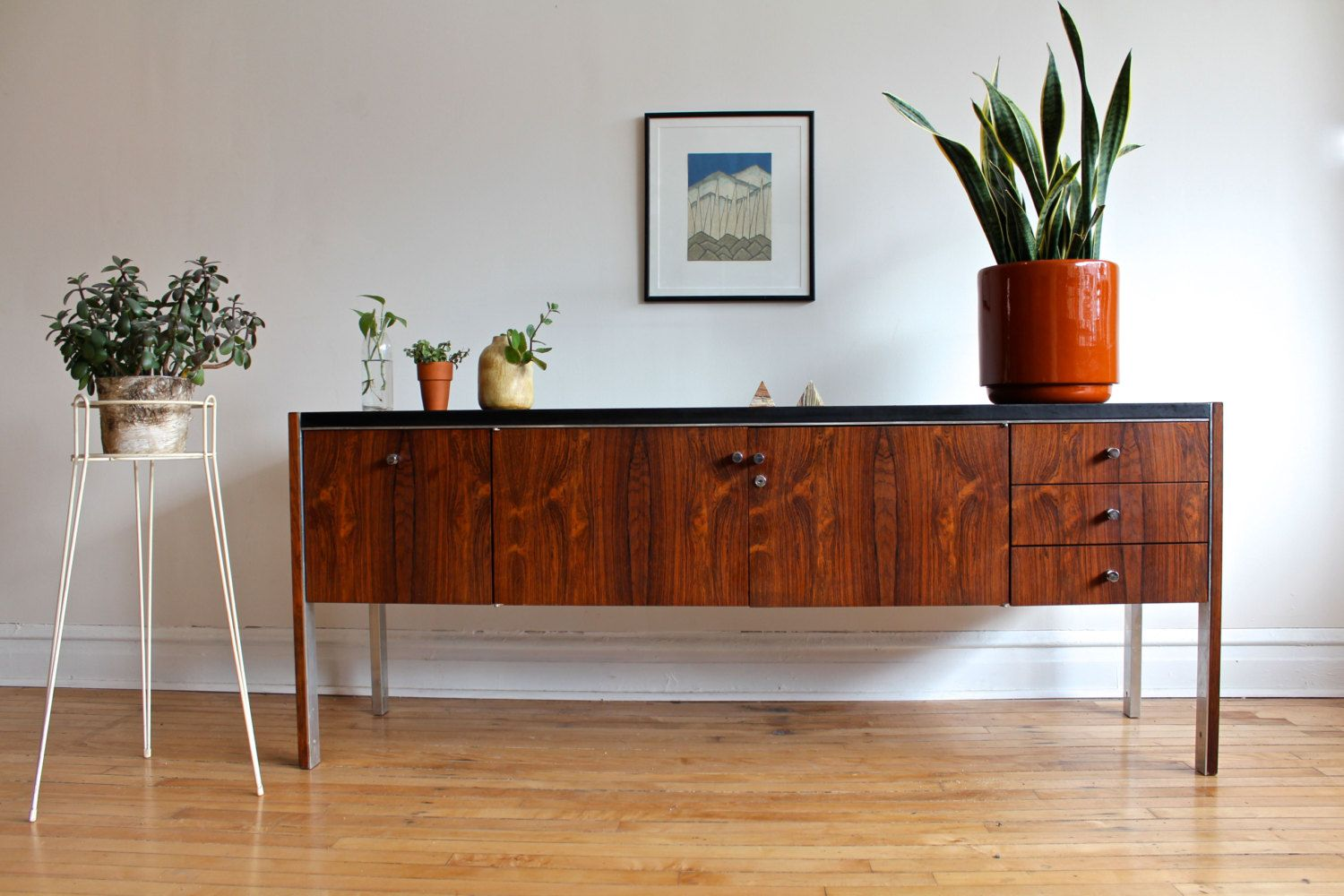 Mid Century Modern Rosewood Sideboard By By SharkGravy On Etsy