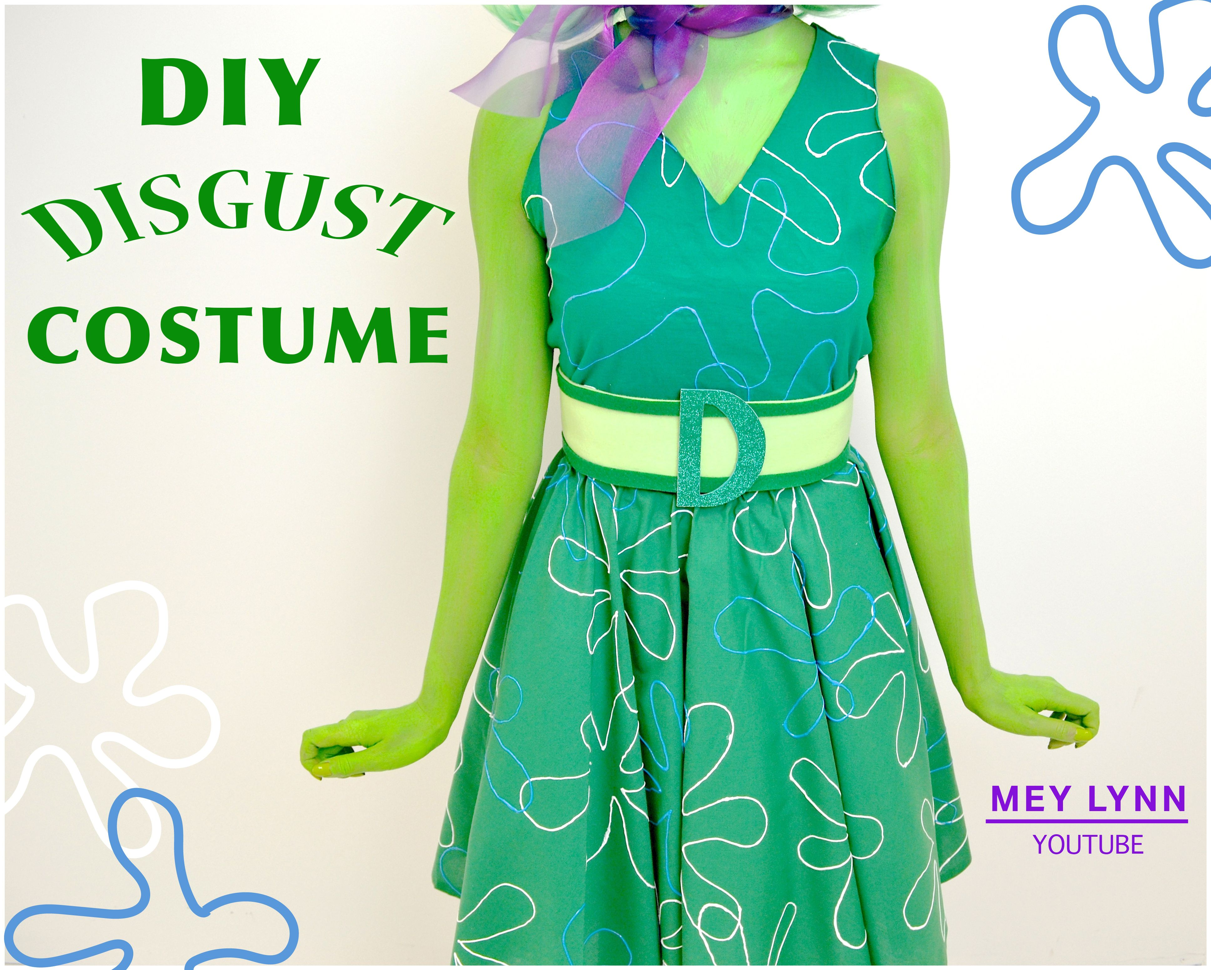 Diy Disgust Costume Learn How To Make Her Dress Belt