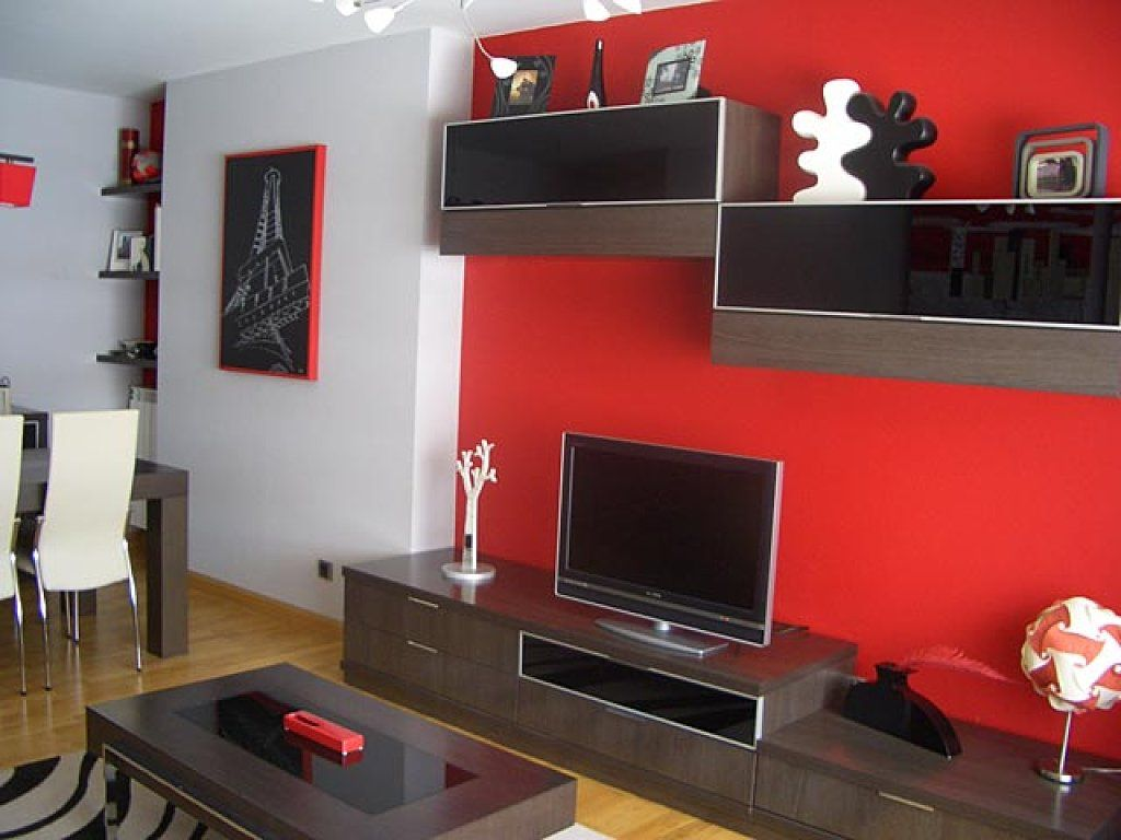 Colores para pintar departamentos peque os en esta - Paredes decorativas interiores ...