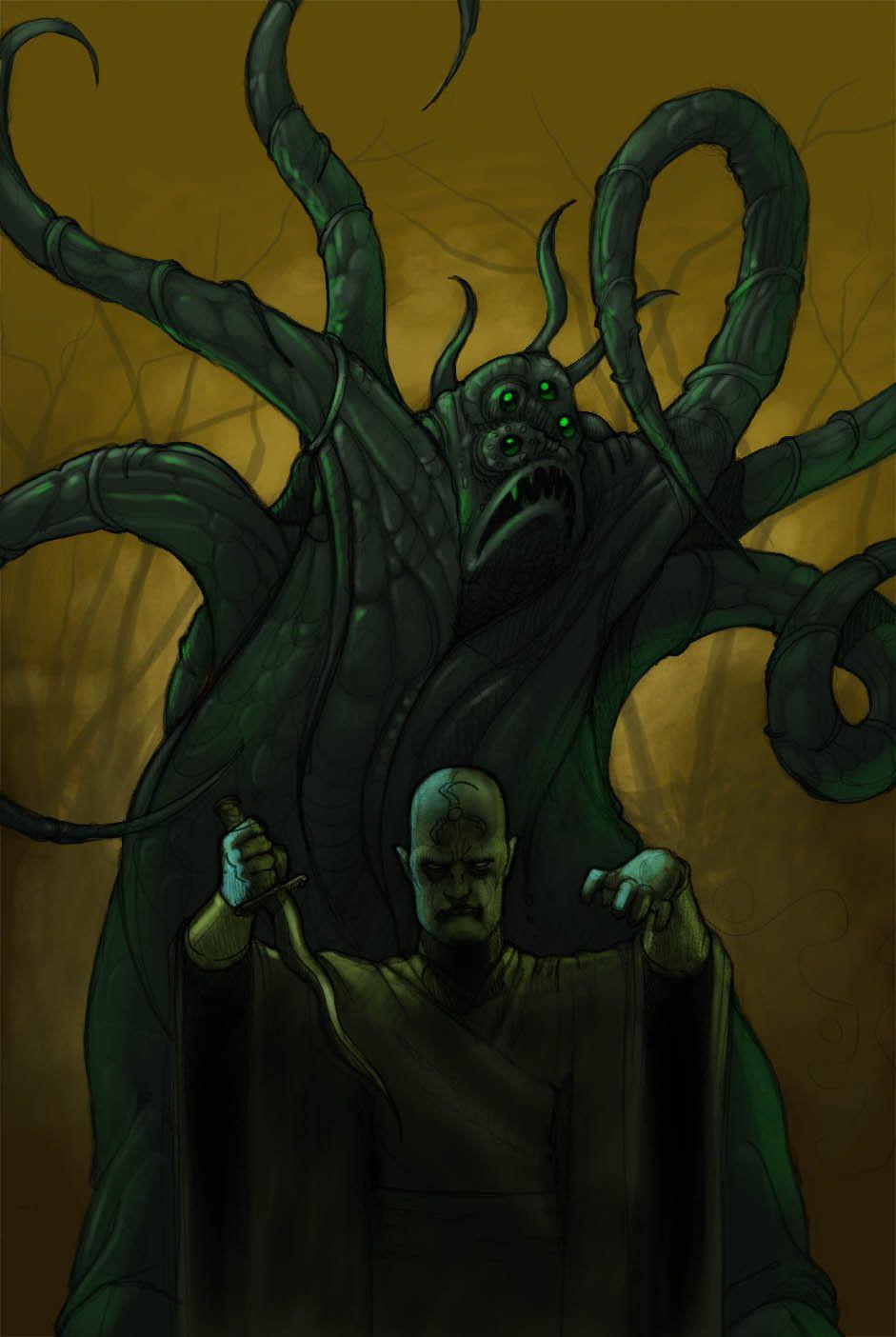 Dark Young Priest Of Hastur By Elvasquito Deviantart Com On