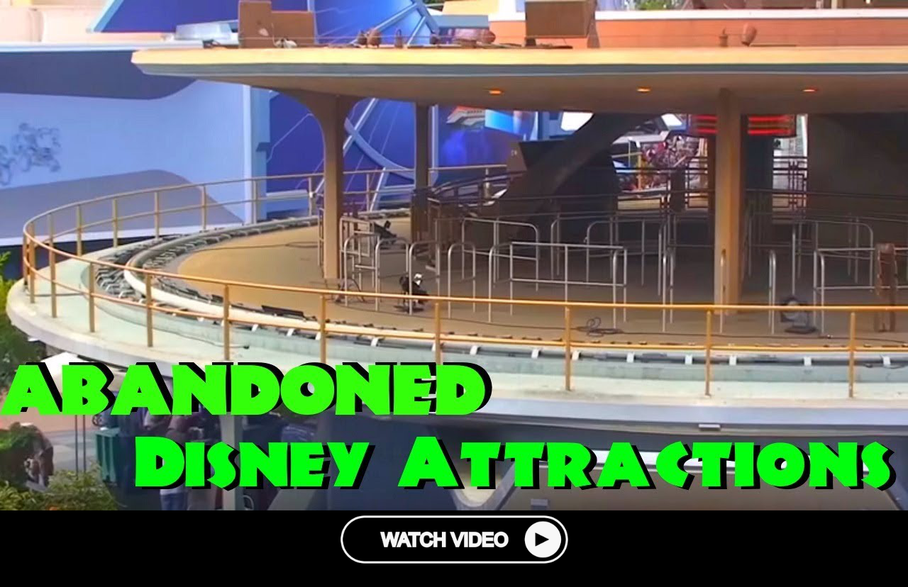 6 Abandoned Disney Attractions That Are Still Standing