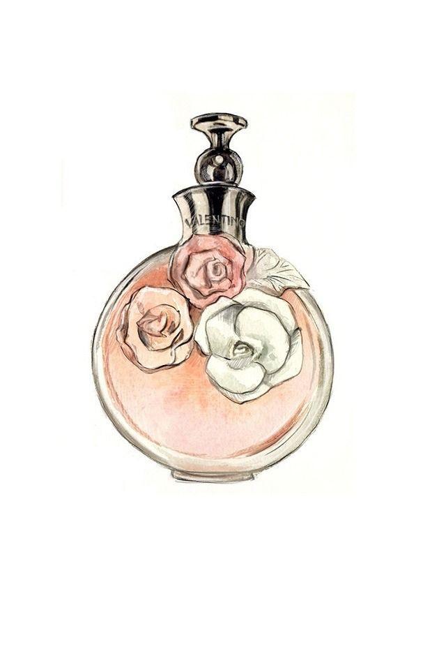 Epingle Par Angie Parada Sur Boutique Purfume Illustration De