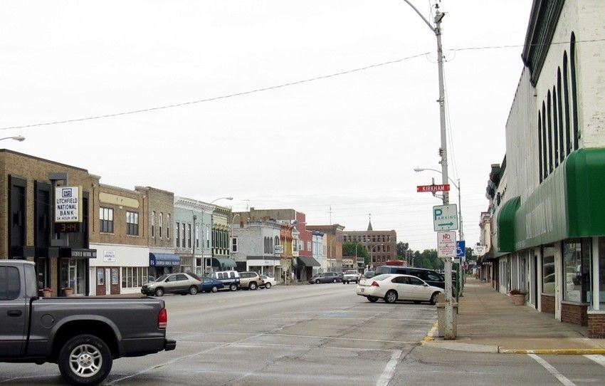 Litchfield Il Historic Downtown Litchfield East St Louis Downtown