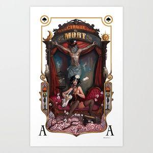 Cirque du Mort Art Print by Rudy Faber