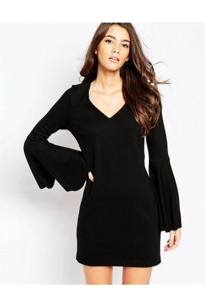 Mujer Vestidos de punto - ASOS Vestido de corte recto con diseño estilo  años 60…