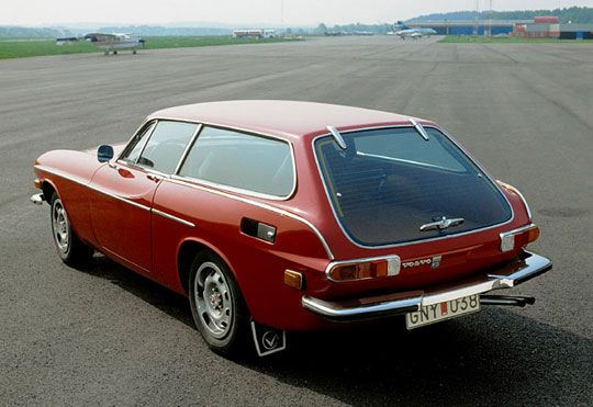 Volvo P1800 Es Volvo Auto Stationwagon