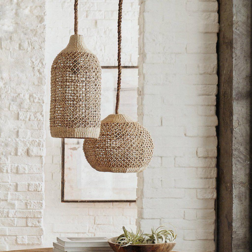 Abaca woven pendants pendant lighting pendants and lights