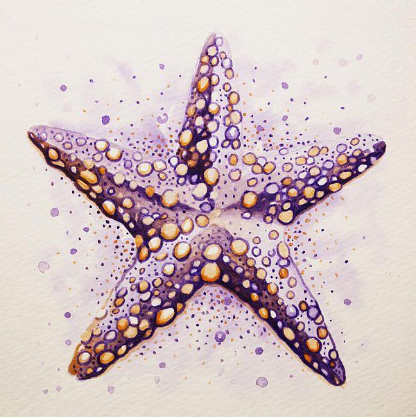 Purpura Starfish Canvas Print / Canvas Art by William Love ...