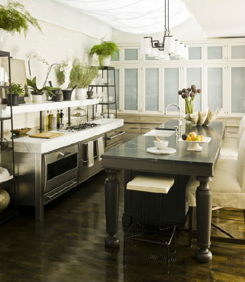 Small Kitchen No Dining Room: Kitchen By Mcalpine Booth & Ferrier
