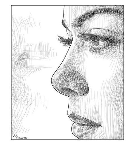 drawing portrait based on @marispetra #portraitsketch #