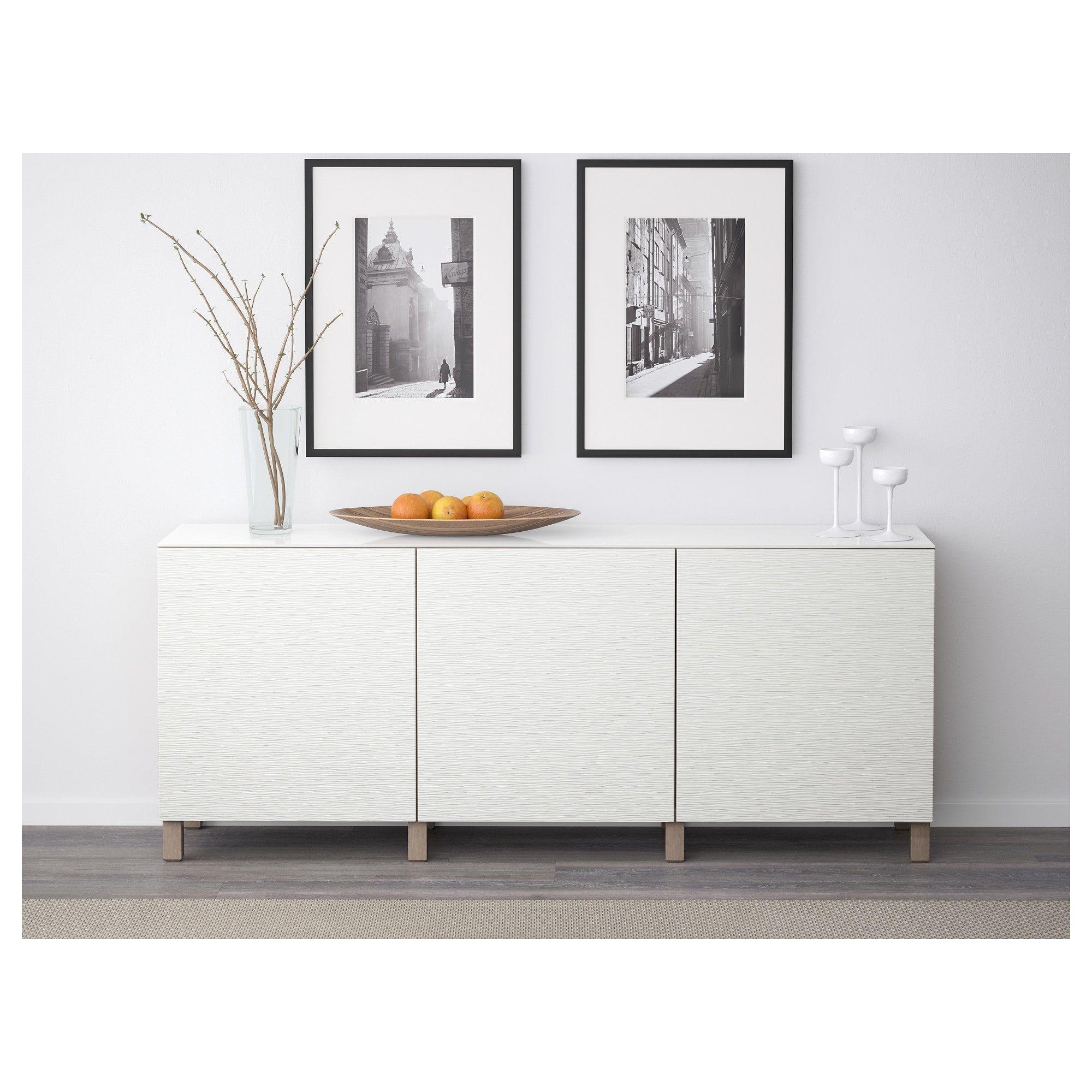 Best Storage Combination With Doors  Walnut Effect Light Graylaxviken
