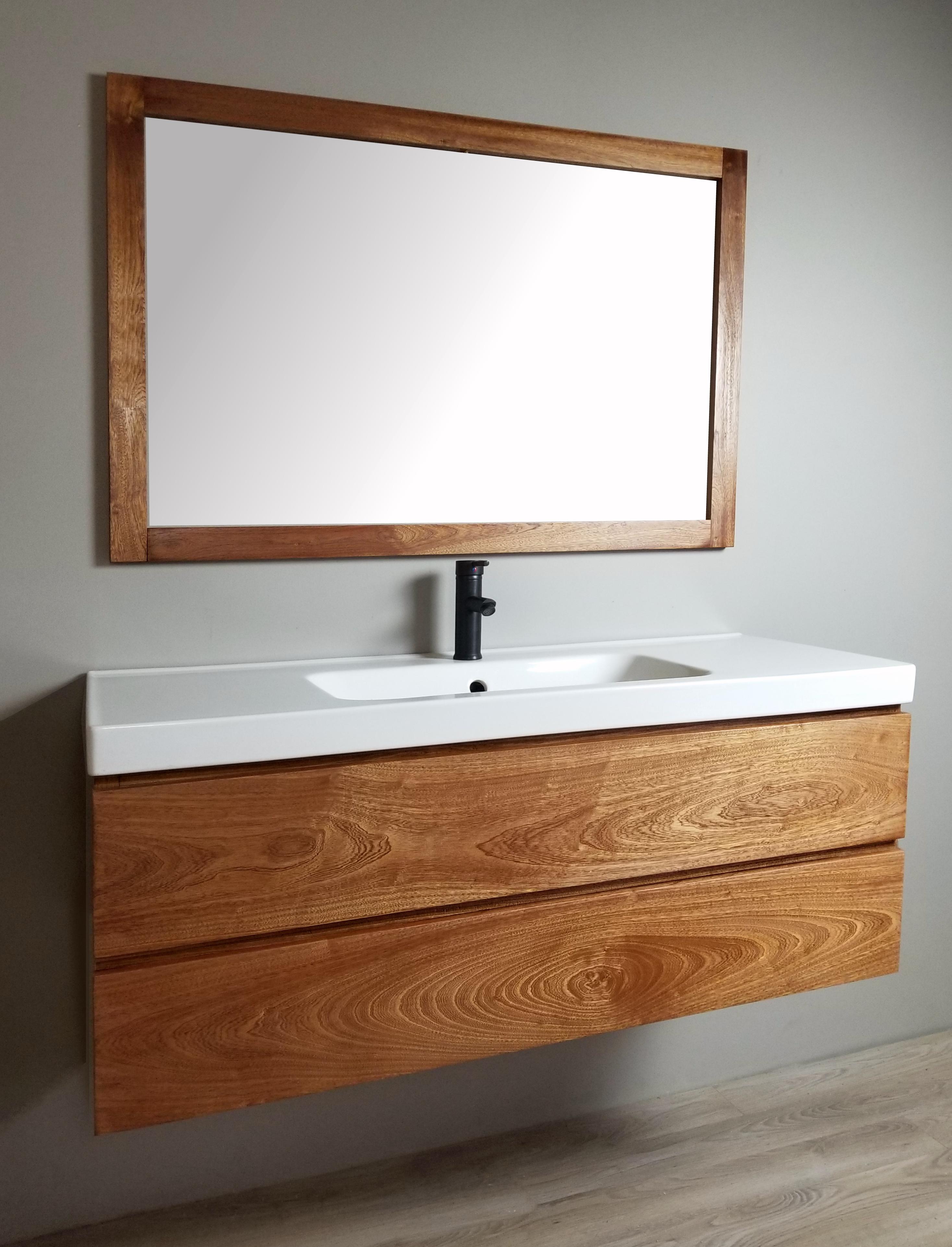 Sapele Vanity Custom Bathroom Vanity Beautiful Bathrooms Floating Bathroom Vanity [ 3845 x 2935 Pixel ]