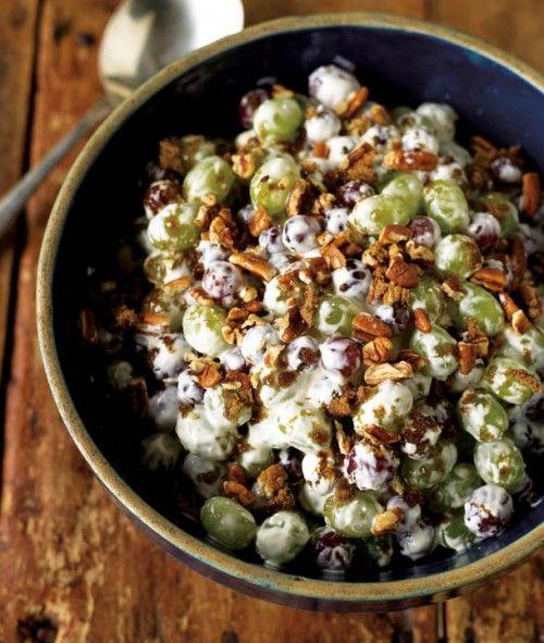 Creamy Grape Salad Recipe