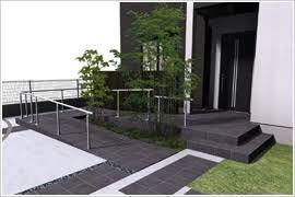 玄関スロープ デザイン の画像検索結果 エクステリア 玄関