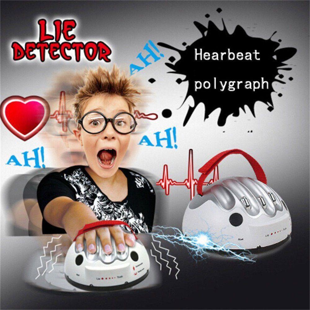 Adjustable Lie Detector Reloaded Polygraph Electric Shocking Liar Gag Gift UK