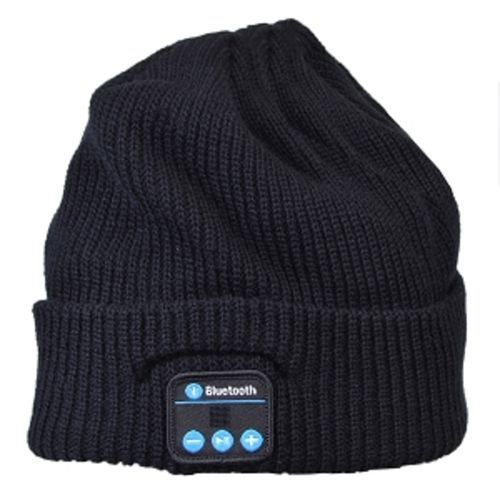 Xtreme Bluetooth Beanie - Listen to Music & Take Handsfree Calls with this Ultimate Fashion Accessory! (Black)