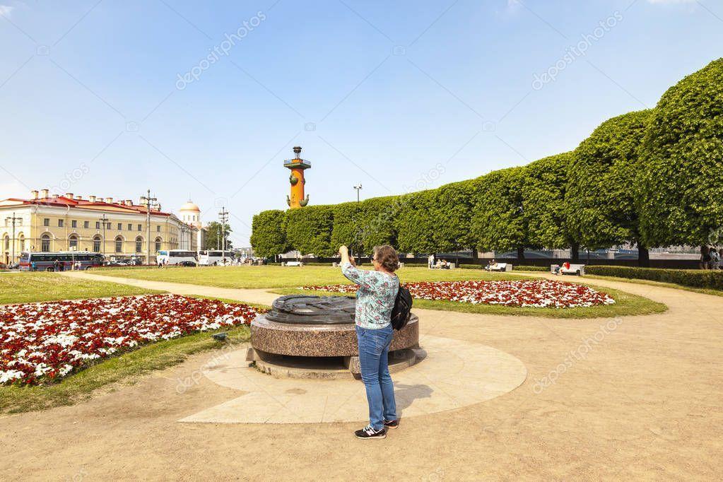 Saint Petersburg. Exchange Square Stock Photo , AD,