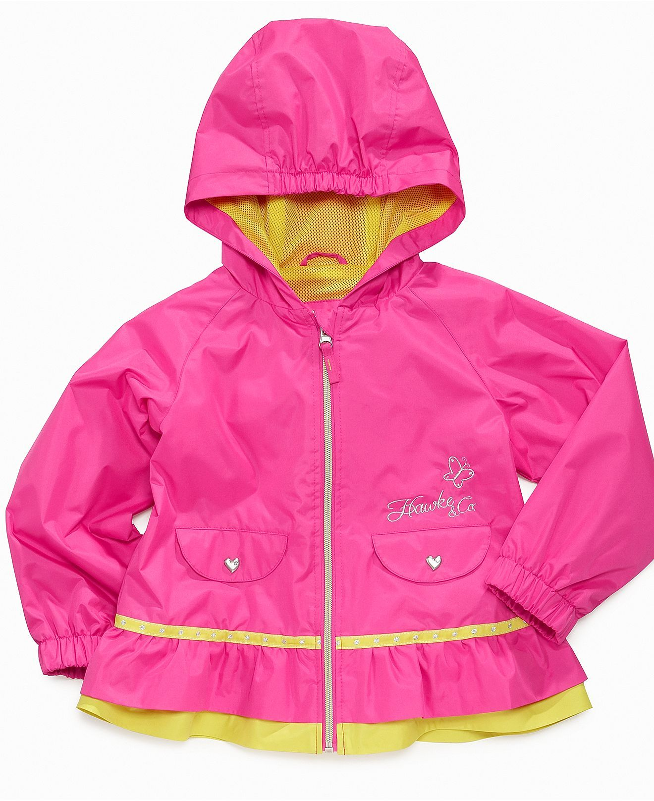 6f22f8b3 Hawke & Co. Kids Coat, Toddler Girls Rain Jacket - Kids - Macys ...