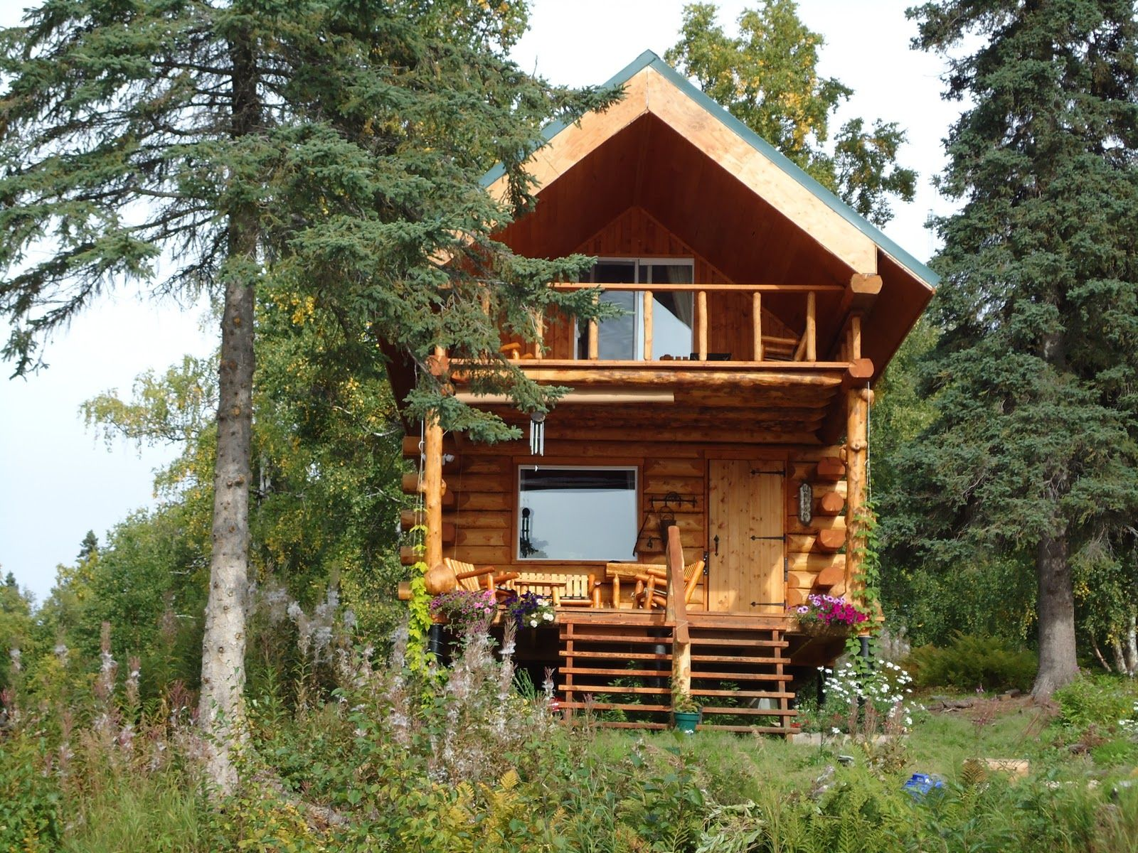 Alaska Cabins Alaskan Cabin Plans And Designs Log