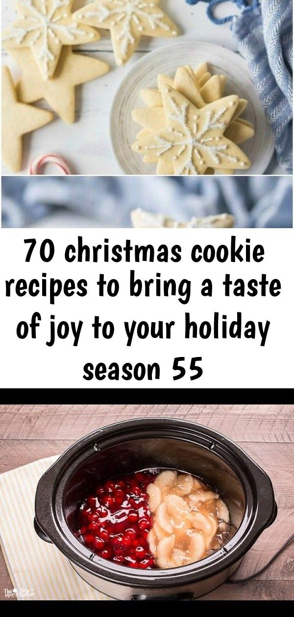 70 christmas cookie recipes to bring a taste of joy to your holiday season 55 70 Christmas Cookie Recipes to Bring a Taste of Joy to Your Holiday Season No need to agree...