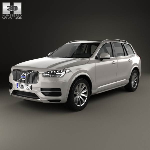 2020 Volvo Xc90 Hybrid T8 Mpg: Volvo XC90 2015 3d Model From Humster3d.com. Price: $75