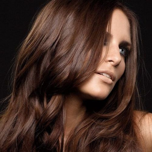 cocoa brown hair color colores paracolor de pelo