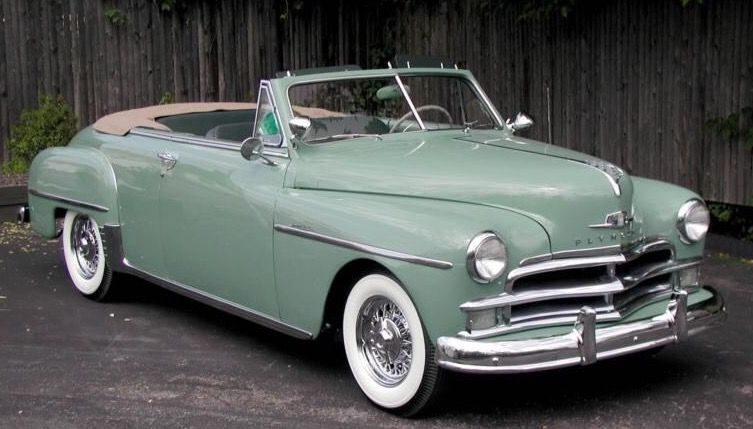 1950 Plymouth Deluxe Convertible Classic Cars Plymouth Cars Plymouth